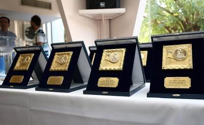 Οι βραβεύσεις των αθλητών και των αθλητριών του Ολυμπιακού