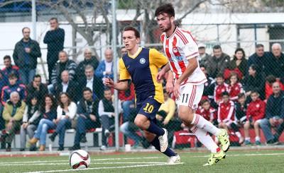 Ολυμπιακός Κ20 - Αστέρας Τρίπολης Κ20 (0-0)