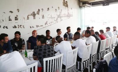 Το γεύμα των πρωταθλητών Ελλάδας