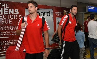 Η επιστροφή του Ολυμπιακού από την Ουγγαρία