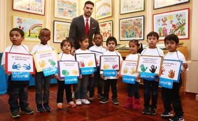 Ο Αλ. Μποτία στην εκδήλωση της UNICEF για την παγκόσμια ημέρα των δικαιωμάτων του παιδιού