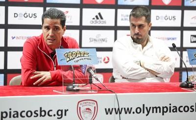 Η συνέντευξη Τύπου για το ματς με την Ούνικς Καζάν