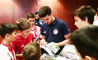 Η επίσκεψη στους παίκτες στα Γιάννενα