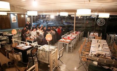 Δείπνο του Ολυμπιακού στα εγκαίνια του