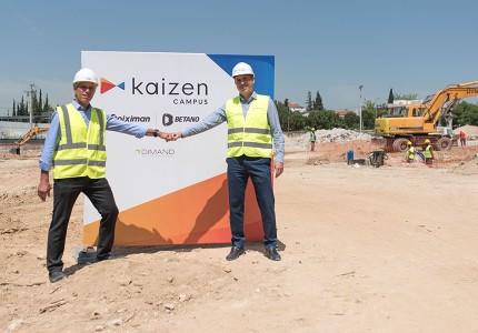 Kaizen Campus: Έναρξη εργασιών για τη δημιουργία του νέου κτιρίου γραφείων για την Kaizen Gaming