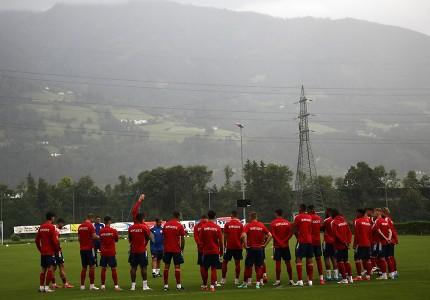 Ολυμπιακός: Αυστρία, μέρα πρώτη (photos)