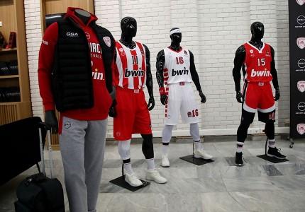 Τρέλα! Οι νέες φανέλες του μπασκετικού Ολυμπιακού είναι εδώ! (photos)