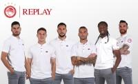 Ολυμπιακός και Replay Jeans μαζί για 4η συνεχόμενη χρονιά!