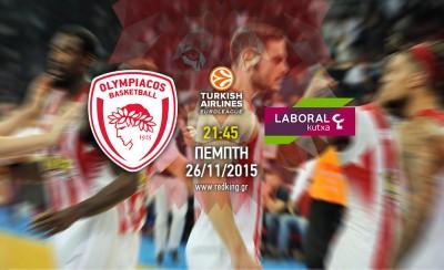 Ολυμπιακός - Λαμποράλ 59-52