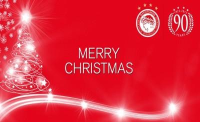 Καλά & ερυθρόλευκα Χριστούγεννα!