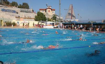 Γέμισε παιδιά το κολυμβητήριο