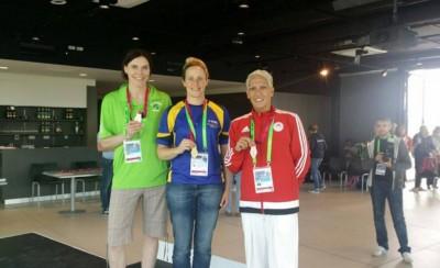Ασημένιο μετάλλιο η Χατζηγεωργίου!