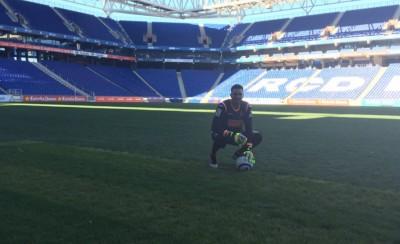 Η πρώτη φωτό του Ρομπέρτο στο γήπεδο της Εσπανιόλ!
