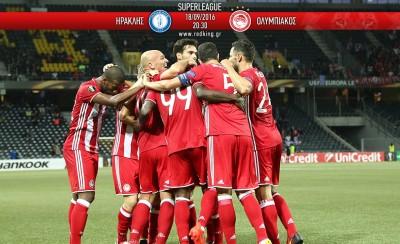 Ηρακλής-Ολυμπιακός 1-2 (τελικό)