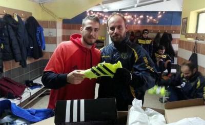 Τα δώρα του Φορτούνη στην ομάδα των Μετεώρων! (photos)