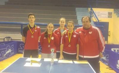 Μετάλλια για την Ακαδημία Επιτραπέζιας Αντισφαίρισης