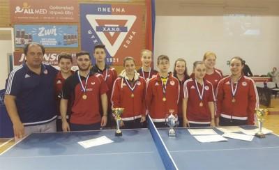 Νέες επιτυχίες για το τμήμα Επιτραπέζιας Αντισφαίρισης!