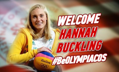 Στον Ολυμπιακό η Χάνα Μπάκλινγκ