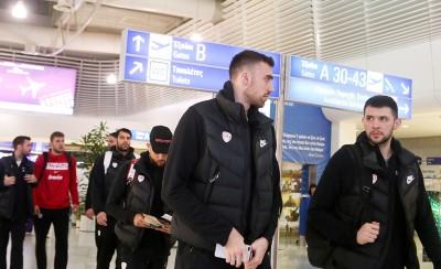 «Πέταξε» για Τουρκία ο Ολυμπιακός (photos)