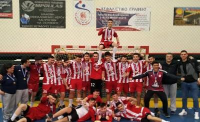 Αήττητοι Πρωταθλητές Ελλάδας οι Έφηβοι
