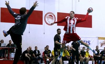 Ολυμπιακός-ΑΕΚ 22-17 (Τελικό)