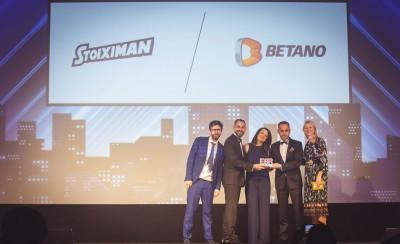«Χρυσό» για τον Όμιλο Stoiximan/Betano στα EGR Operator Awards 2019
