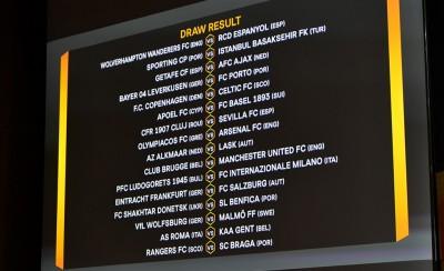 Σπουδαία ματς και στο Europa League