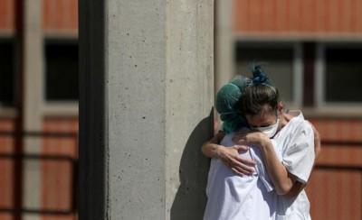 Θλιβερό: 769 νεκροί σε μία μέρα στην Ισπανία!