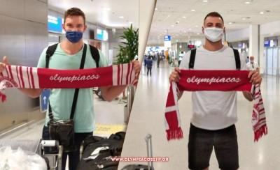 Φρομ και Όκολιτς στην Ελλάδα για τον Ολυμπιακό (photos)