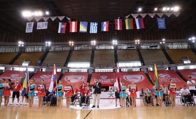 Εντυπωσιακή η τελετή έναρξης του Πανευρωπαϊκού Πρωταθλήματος Μπάσκετ με Αμαξίδιο