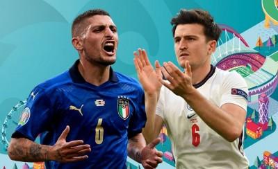 Ιταλία - Αγγλία: Ο Βεράτι βάζει την προσωπικότητα κι ο Μαγκουάιρ το κεφάλι, στην τελική μάχη του Euro 2020!