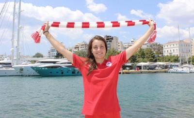 Φουράκη: «Αισθάνομαι τυχερή στον Ολυμπιακό»