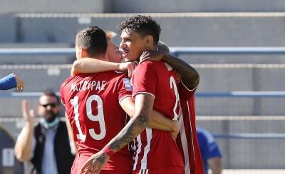 ΖΩΝΤΑΝΑ: Αστέρας Τρίπολης - Ολυμπιακός 0-2 (Τελικό)