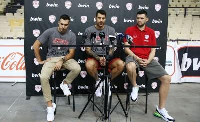 Ολυμπιακός | Μπάσκετ: Οι δηλώσεις παικτών και Μπαρτζώκα (28/09)