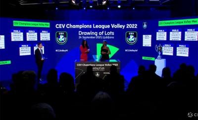 Οι κληρώσεις ανδρών και γυναικών στο CEV Champions League