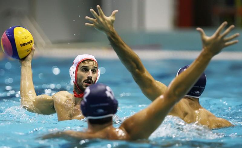 Σπαντάου - Ολυμπιακός 11-11
