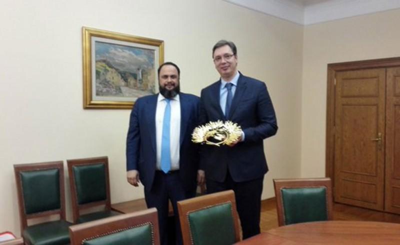 Με τον Πρωθυπουργό της Σερβίας ο Μαρινάκης!