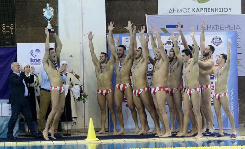 Αυτοκράτορας της πισίνας ο Ολυμπιακός!