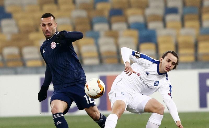 Ντιναμό Κιέβου-Ολυμπιακός 1-0 (Τελικό)