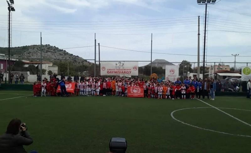 Πλήθος κόσμου στη Σχολή Σαλαμίνας! (Photos)