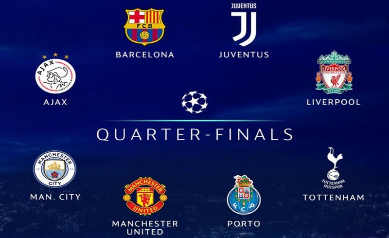 Αυτή είναι η 8άδα του Champions League