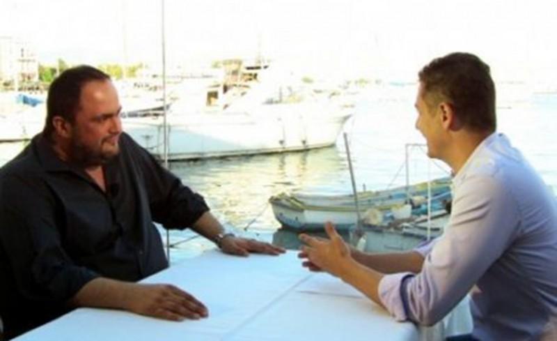 Τηλεοπτική συνέντευξη Μαρινάκη για όλα!