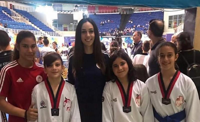 Τρία μετάλλια για τους μικρούς αθλητές
