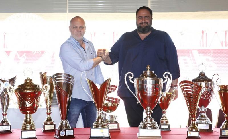 Ο Μαρινάκης εγγυάται το υγιές μέλλον του συλλόγου σε όλα τα αθλήματα!