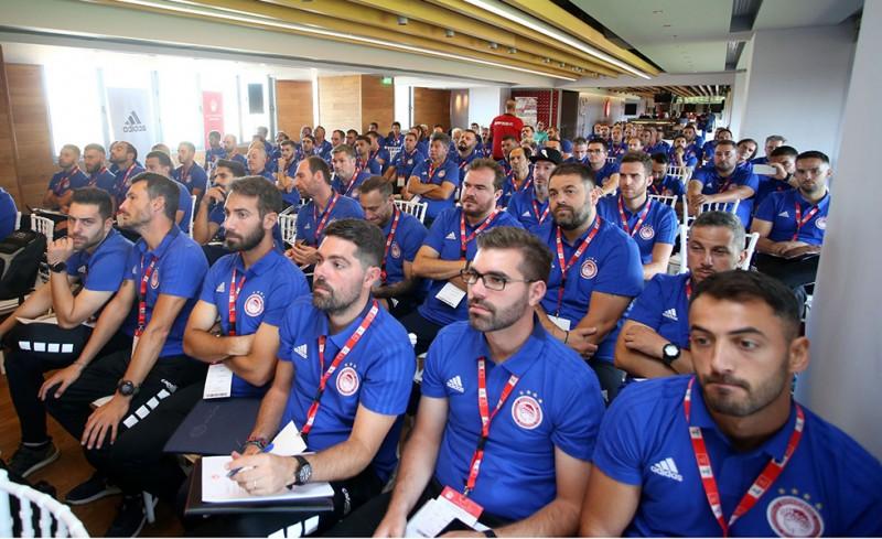 Μεγάλη συμμετοχή στο ένατο σεμινάριο Σχολών του Ολυμπιακού