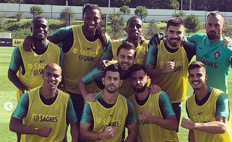 Πανευτυχής στην Εθνική Πορτογαλίας ο Σεμέδο (photo)