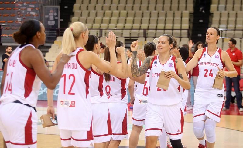 Ολυμπιακός-ΠΑΟΚ 83-40 (Τελικό)