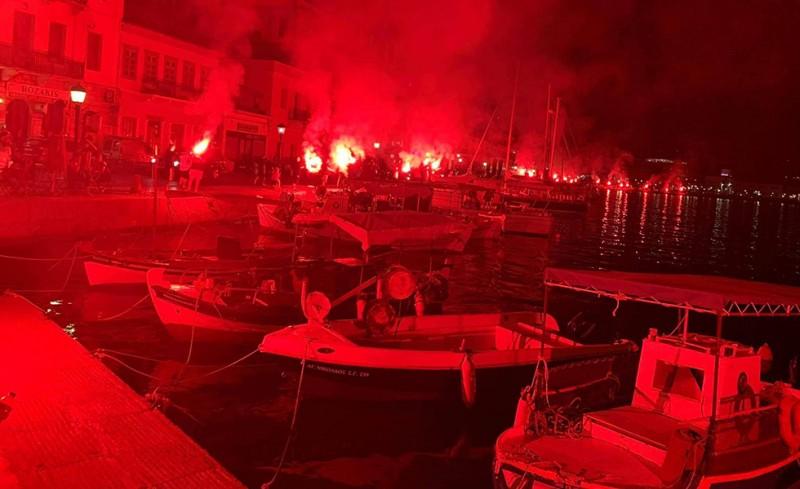 «Η Λακωνία είναι κατακόκκινη» (photo)
