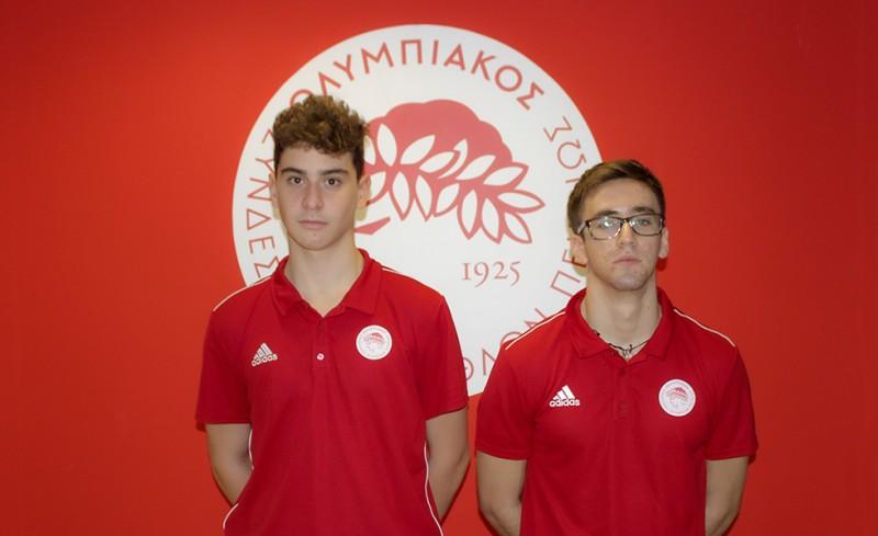 «Ανέβασε» δύο αθλητές από την Ακαδημία