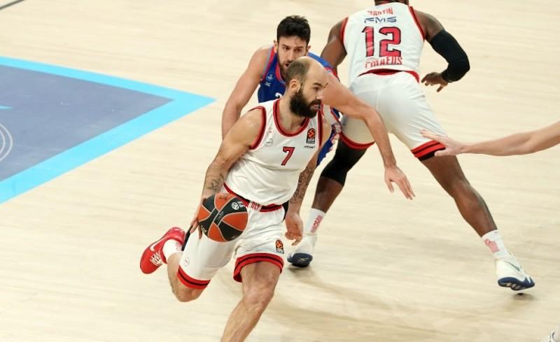 Ολυμπιακός-ΤΣΣΚΑ 74-75 (Τελικό)